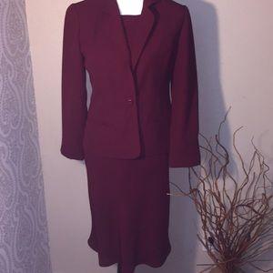 Talbots- lined suit dress size 4